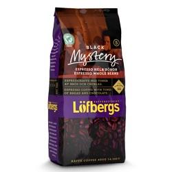 Lofbergs Black Mystery Espresso в зёрнах, 400 гр.