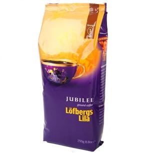 Lofbergs Jubilee молотый, 250 гр.