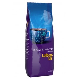 Lofbergs Decaffeinated молотый, 250 гр.