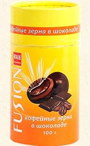 Кофейное зерно в шоколаде 70 г.
