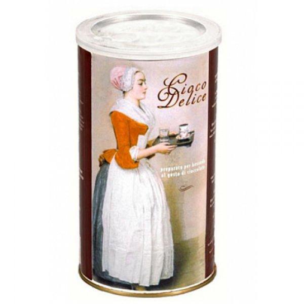 Molinari, горячий шоколад Cioco Delice, банка, 1 кг.