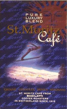 Badilatti St.Moritz Cafe, молотый, 250 гр