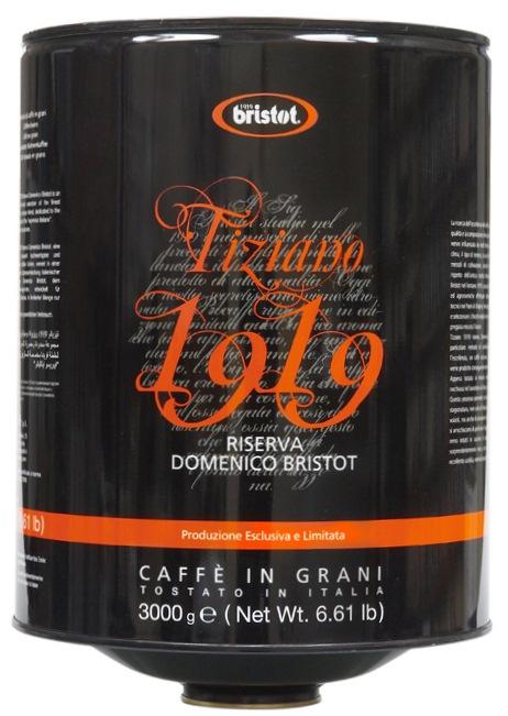 кофе Bristot Tiziano 1919