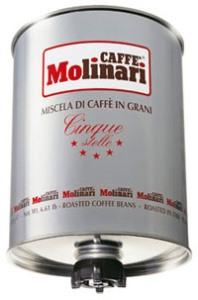 Кофе Molinari CINQUE STELLE