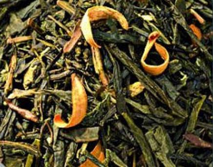 Зелёный чай Женьшень и персик
