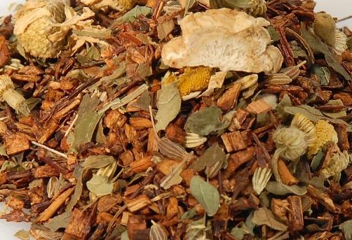 Травяной чай с женьшенем