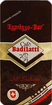 Badilatti Espresso Bar, в зернах, 250 гр