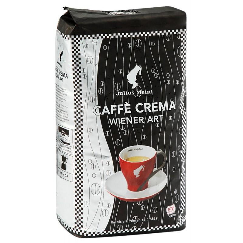 КОФЕ JULIUS MEINL CAFFE CREMA WIENER ART АРАБИКА 100% ЗЕРНО 1КГ