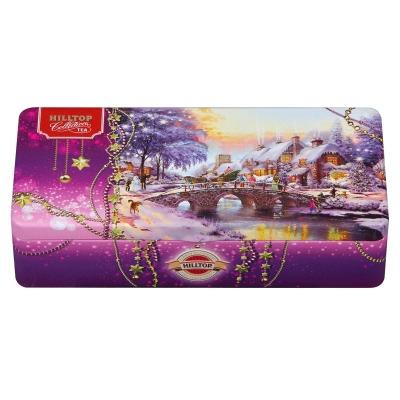 Чай Хилтоп Новогодний пейзаж 150 гр