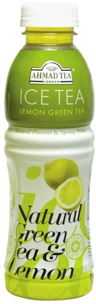 Ahmad Tea чай Ахмад, натуральный зеленый чай с лимоном.