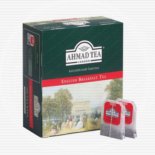 Чай Ahmad Tea / Ахмад Английский чай No.1, 100 шт х 2 г.