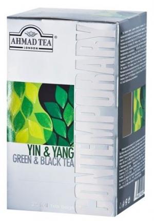 Чай Ahmad Tea Contemporary / Ахмад Инь Ян, 20 шт х 2 г.