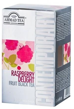 Чай Ahmad Tea Contemporary / Ахмад Расберри делайт, 20 шт х 2 г.