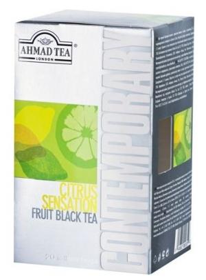Чай Ahmad Tea Contemporary / Ахмад Цитрус сенсейшн, 20 шт х 2 г.