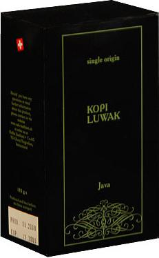 Badilatti Kopi Luwak, в зернах, 125 гр