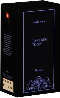 Badilatti Howaii Coptain Cook, в зернах, 125 гр в подарочной коробке