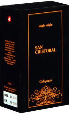 Badilatti Galapagos San Cristobal, в зернах, 125 гр в подарочной коробке