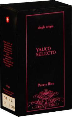 Badilatti Puerto Rico Yauco Selecto, в зернах, 125 гр в подарочной коробке