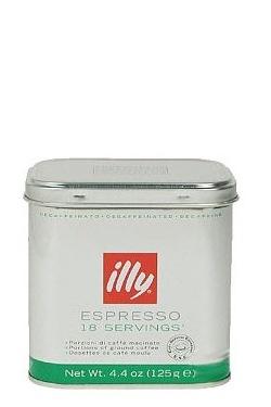 Кофе ILLY ЧАЛДЫ Илли в чалдах 18 порций декофеин. мет. банка