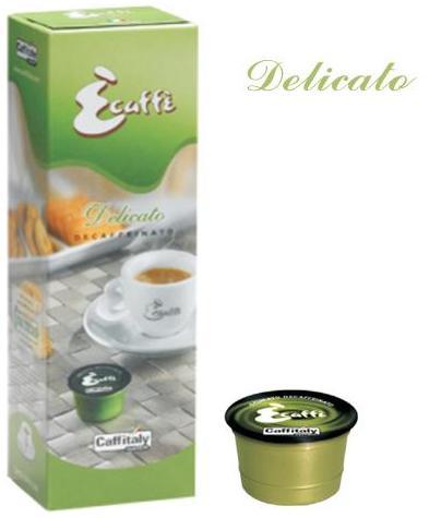 Кофе натуральный жареный порционный Delicato-decaffeinated / Декафинато (капсула) 10 шт.