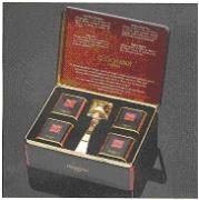 Подарочный набор 1925 г. жестяная коробка (Чай в подарочной упаковке: 4 банки по 25 гр. и ситечко).