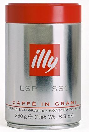 Кофе ILLY Илли в зернах 250 гр. мет. банка