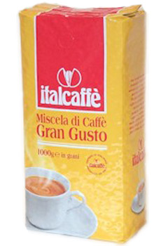 Italcaffe GRAN GUSTO / Италкафе Гран Густо кофе в зернах 1кг.