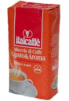 Italcaffe GUSTO E AROMA / Италкафе Густо е Арома кофе в зернах 1 кг.