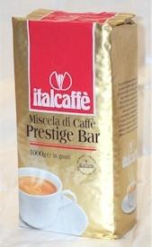 Italcaffe PRESTIGE BAR / Италкафе Престиж бар кофе в зернах 1 кг.
