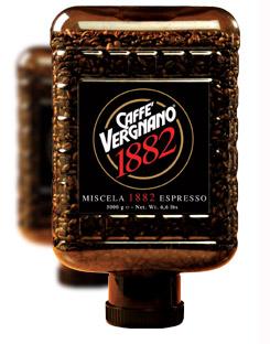 Vergnano CRISTAL 1882 кофе в зернах 3 кг.