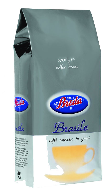 Breda Brasile, в зернах, 1кг