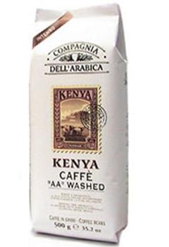 Кофе Compagnia Dell` Arabica Kenia AA Washed в зернах 0,5 кг.