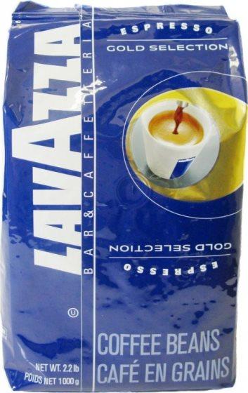Кофе Lavazza Gold Selection в зерне 1 кг (в/упаковка).