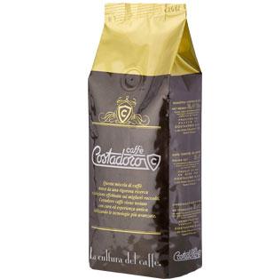 Кофе Costadoro Caffe costadoro в зернах (90% арабика,10% робуста) 0,5 кг.