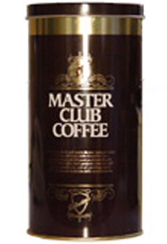 Кофе Costadoro Master club coffee в зернах (100% арабика) 0,5 кг (банка).
