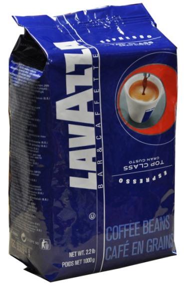 Кофе Lavazza Top Class в зерне 1 кг (в/упаковка).