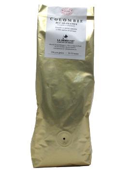 Кофе La Semeuse Colombie в зерне 0,25 кг.