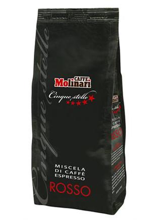 Кофе MOLINARI ROSSO-CLASSICO в зернах 1 кг.