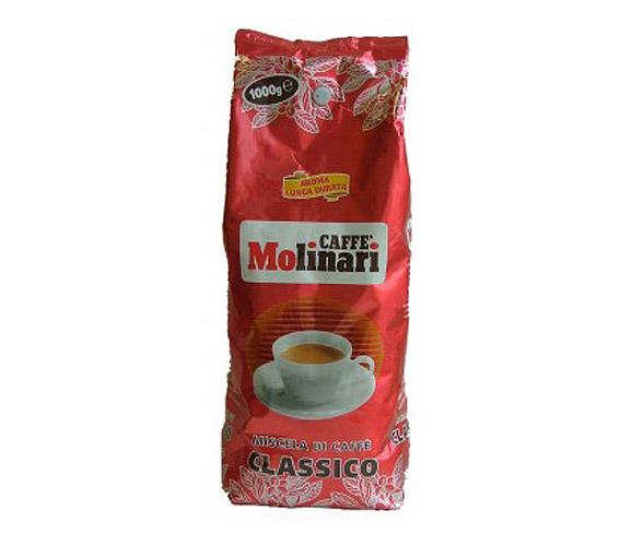 Кофе MOLINARI CLASSICO в зернах 0,5 кг в/упаковка.