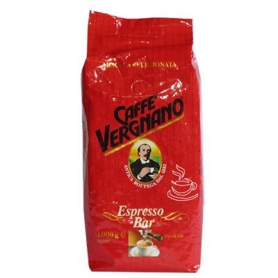 Кофе Vergnano Espresso Bar в зернах 1 кг.
