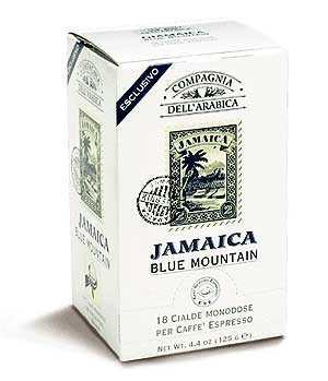 Кофе Compagnia Dell`Arabica Jamaica Blue Mauntain в чалдах, 6,7 г х 18 шт.