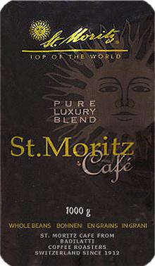 Badilatti St.Moritz Cafe, в зернах, 1кг