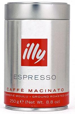 Кофе ILLY Илли молотый 250 гр. мет. банка