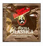 Кофе 150 шт.  по 7 г. Vergnano Classica в чалдах по 7 г.