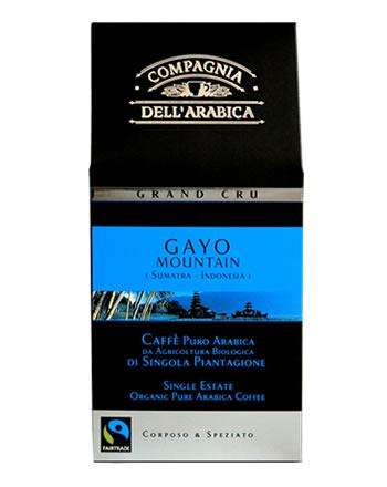 Кофе Compagnia Dell Arabica Grand Cru Gayo Sumatra молотый (100% арабика) 0,25 кг.