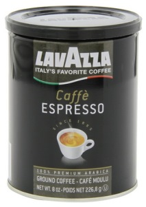 Кофе Lavazza Espresso молотый 0,25 кг (в/банка).