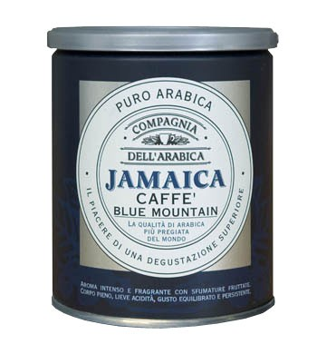 Кофе Compagnia Dell` Arabica Jamaica Blue Mountain молотый (100% арабика) 0,25 кг.