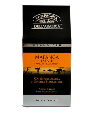 Кофе Compagnia Dell`Arabica Grand Cru Mapanga молотый, вакуумная упаковка, 0,25 кг.