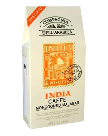 Кофе Compagnia Dell`Arabica INDIA молотый, вакуумная упаковка, 0,25 кг.