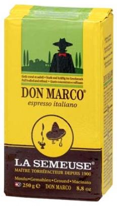 Кофе La Semeuse Don Marco молотый 0.25 кг.